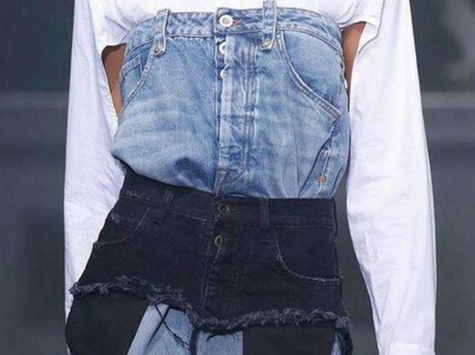 Viri postava, vise konci: SLAVNA PEVAČICA promovisala NOVI TREND nošenja teksasa: Kako vam se sviđa?
