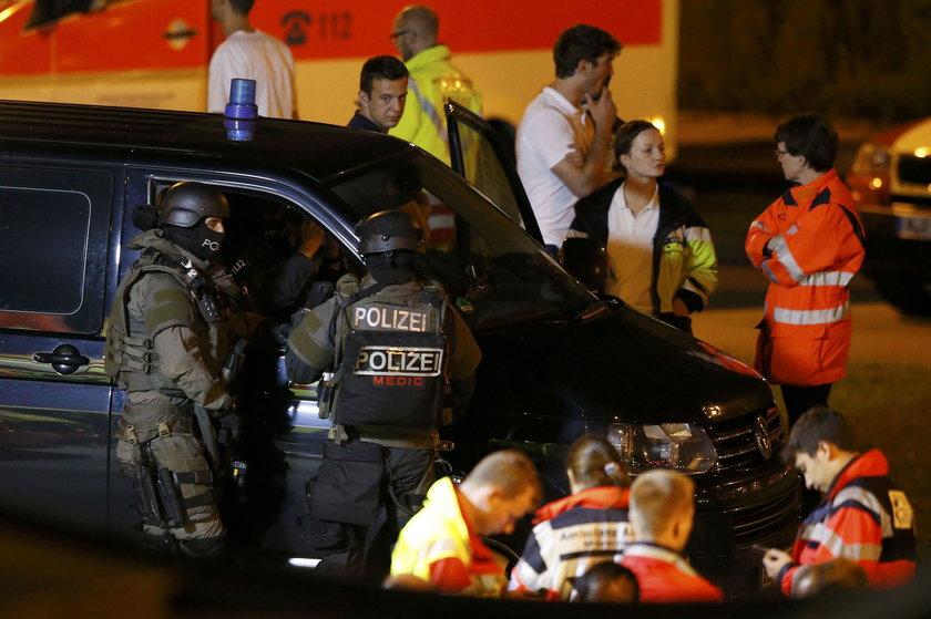 Zamach w Monachium. 18-latek zabił 9 osób, ranił 16