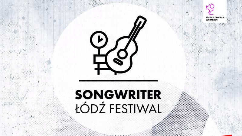 Songwriter Łódź Festival - plakat
