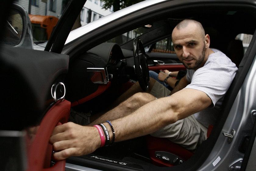 Porsche Marcina Gortata