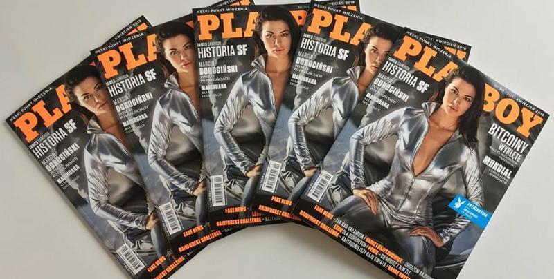 Rozalia Roszyk nową gwiazdą kwietniowego Playboya. Gorące zdjęcia polskiej playmate