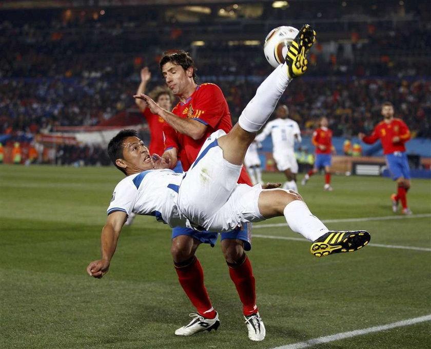 Villa załatwił Honduras