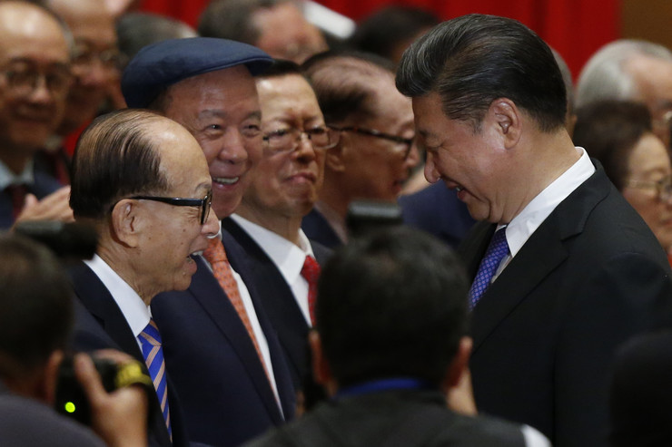Li Ka Šing i Si Đinping