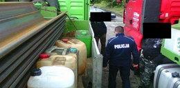 Wykradali paliwo z ciężarówek