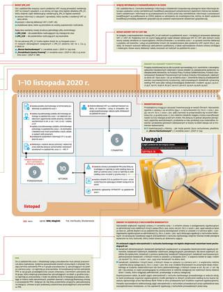 Terminy ważne dla biura rachunkowego [PAŹDZIERNIK 2020]