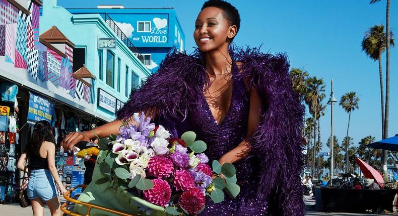 Huddah Monroe lights up Twitter as she gets featured on US Magazine
