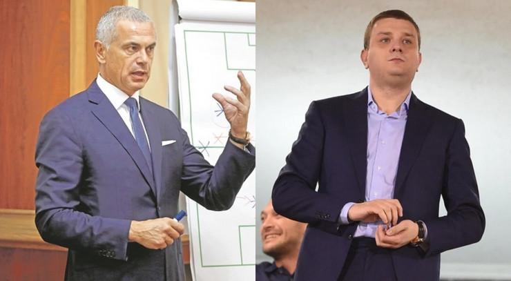 Zvezdan Terzić i Miloš Vazura
