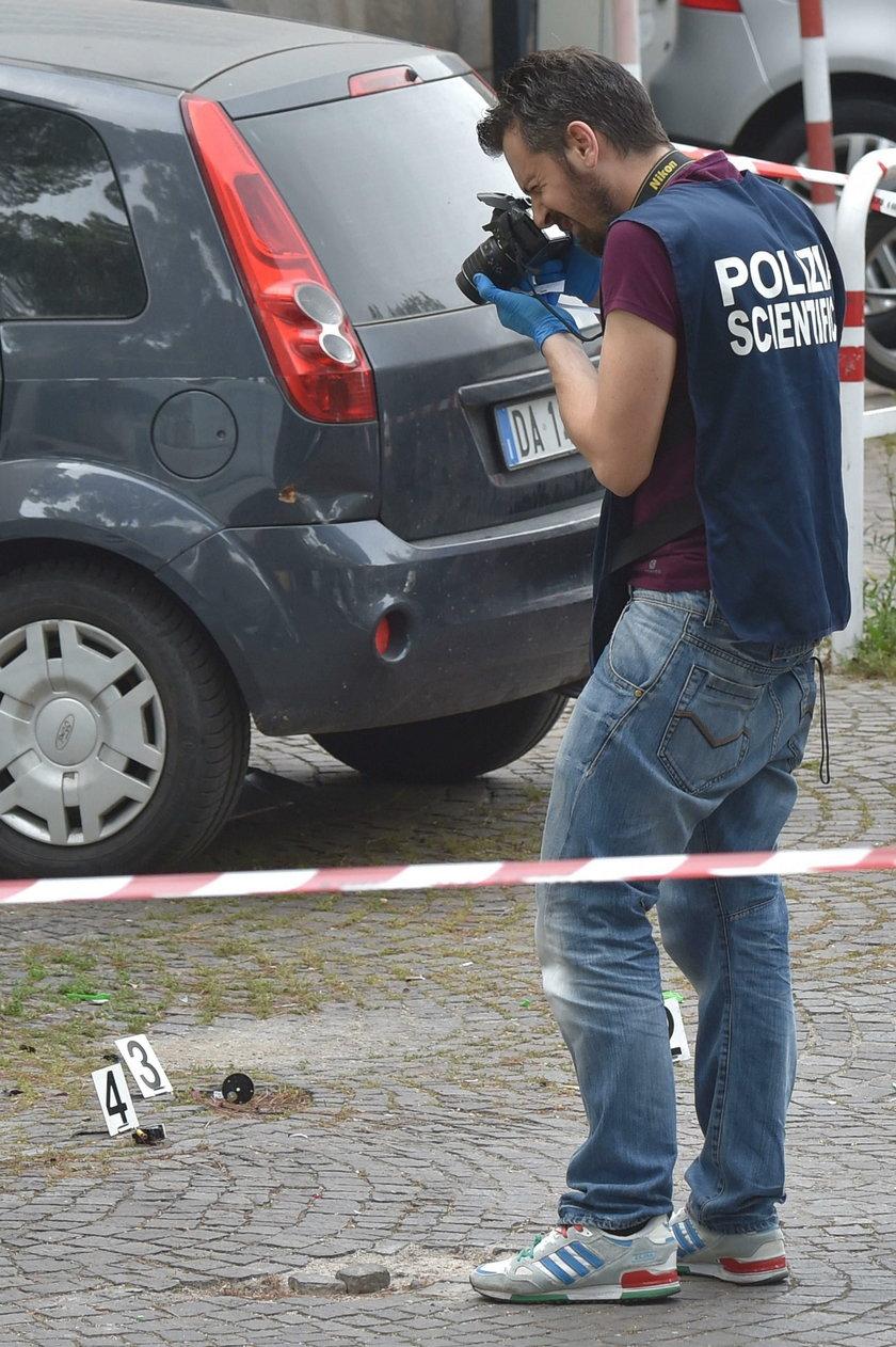 Eksplozja bomby w centrum Rzymu