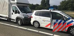 Nastoletni Polak staranował radiowóz w Holandii