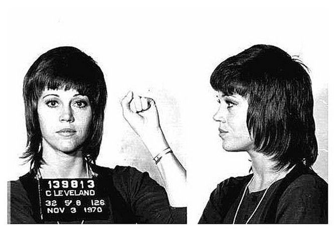 Uhapšena Džejn Fonda 1970 godine