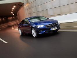 Opel Insignia – autostrada to jej żywioł
