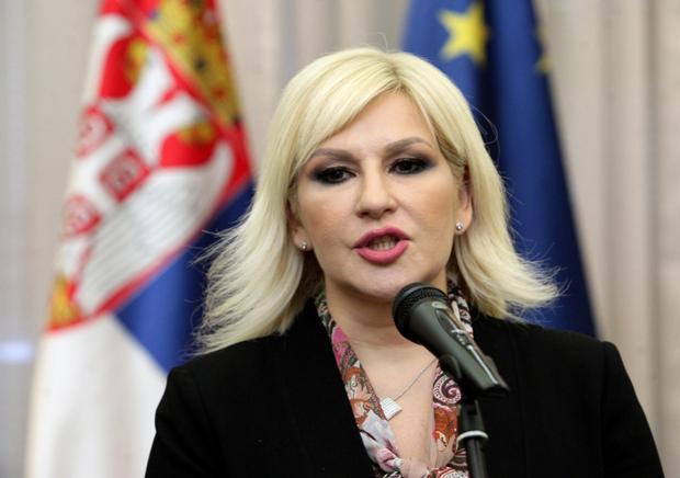 Zorana Mihajlović danas