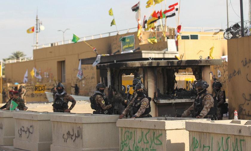 Kolejny  atak na Zieloną Strefę w Bagdadzie