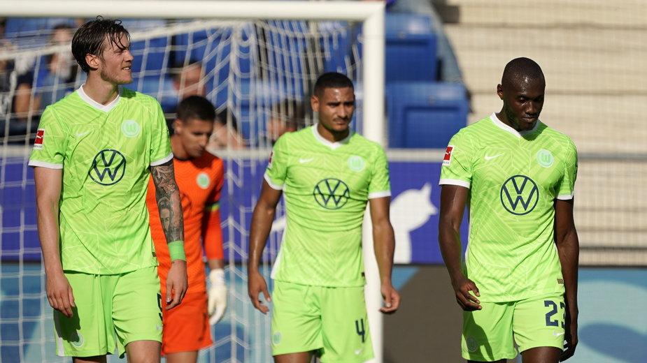 Smutek piłkarzy VfL Wolfsburg