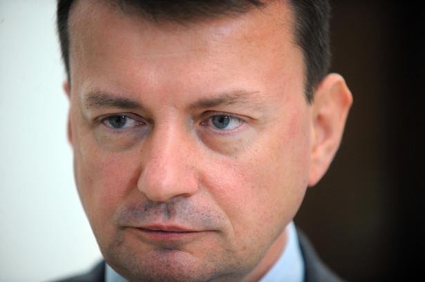 Nie mamy nic gotowego ponad projekty ustaw - zdradza Mariusz Błaszczak