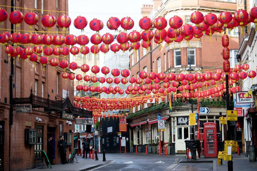 China Town w Londynie