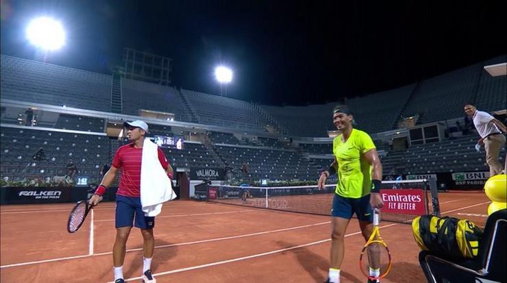 Dušan Lajović i Rafael Nadal