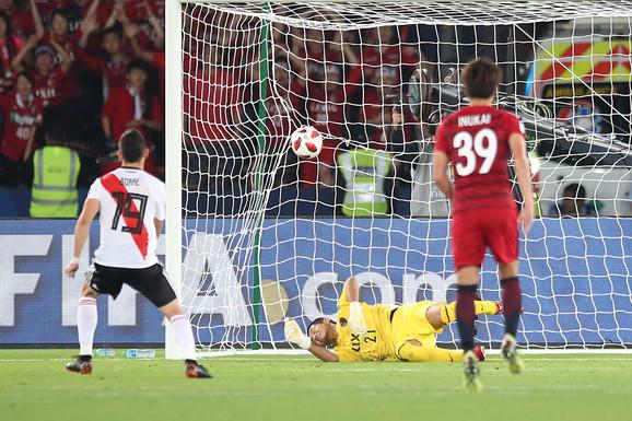 Fudbaleri Rivera postižu gol