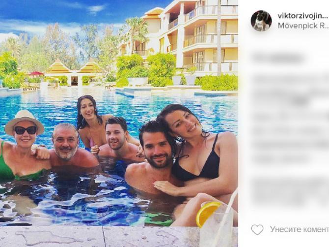 Živojinovići uživaju na Tajlandu: A zbog OVIH SLIKA im ceo Instagram zavidi!
