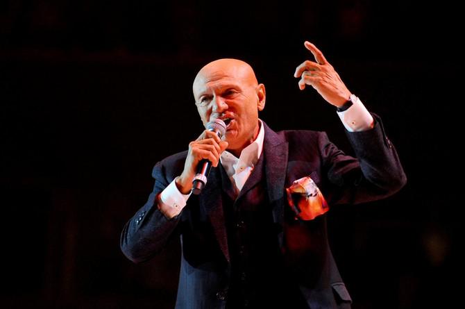 Šaban Šaulić 2018. godine na koncertu u Bepgradu na kojem je proslavio 50 godina karijere
