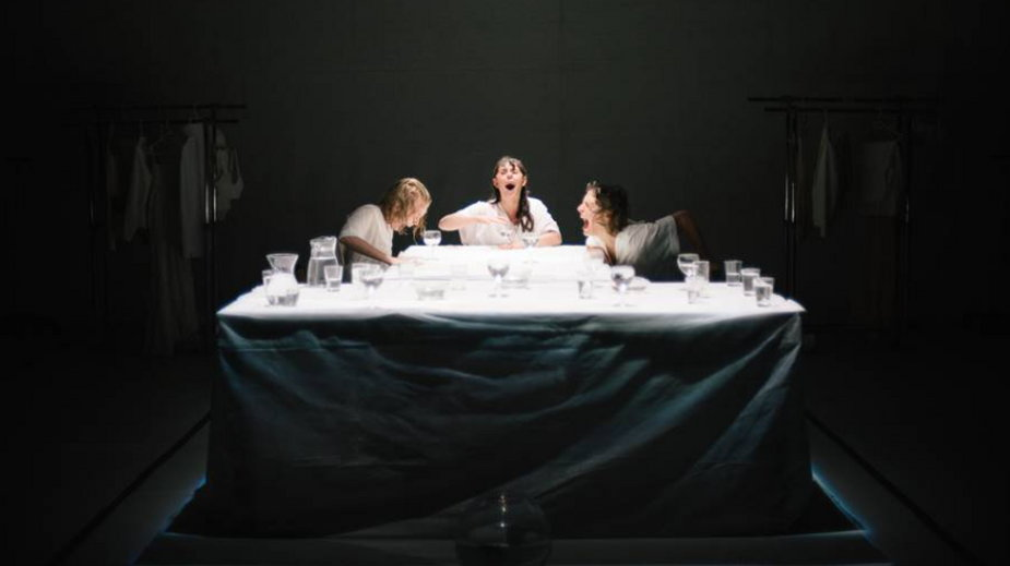 """I Come to You River: Ophelia Fractured"", materiały prasowe Instytutu Grotowskiego (fot. Paulina Anna Galanciak)"