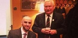 Gortat z Wałęsą w Waszyngtonie