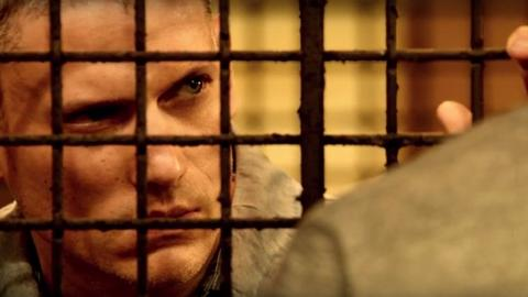"Wentworth Miller w trailerze ""Prison Break'a"""