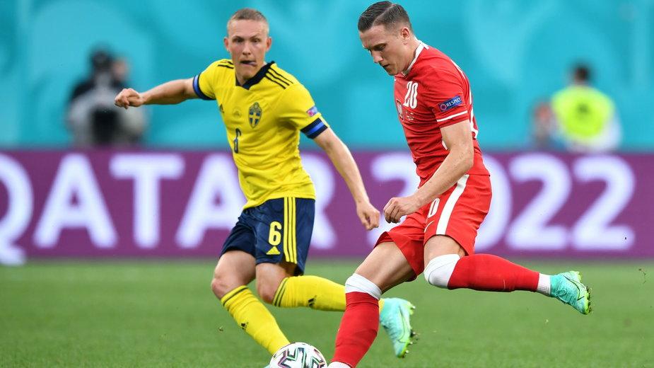 Piotr Zieliński nie ukrywał rozczarowania po meczu ze Szwecją