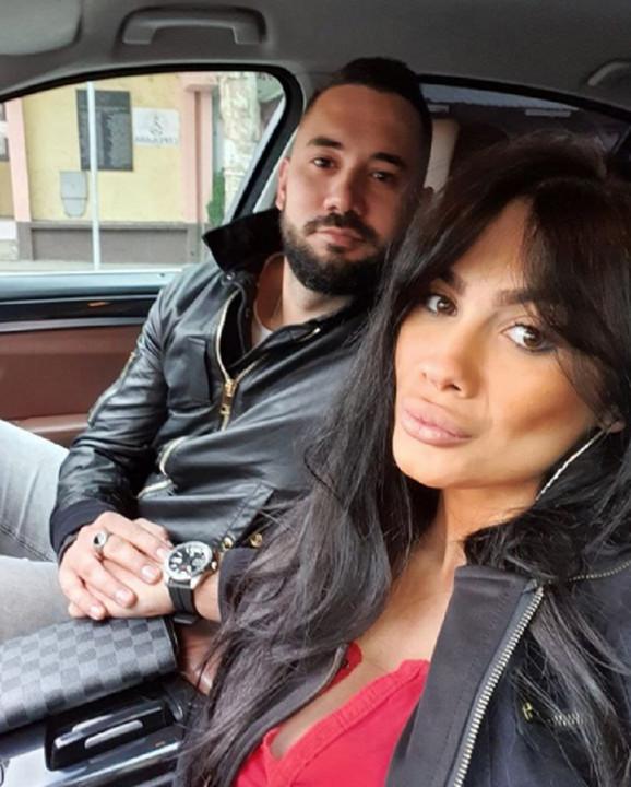 Aca Živanović sa suprugom
