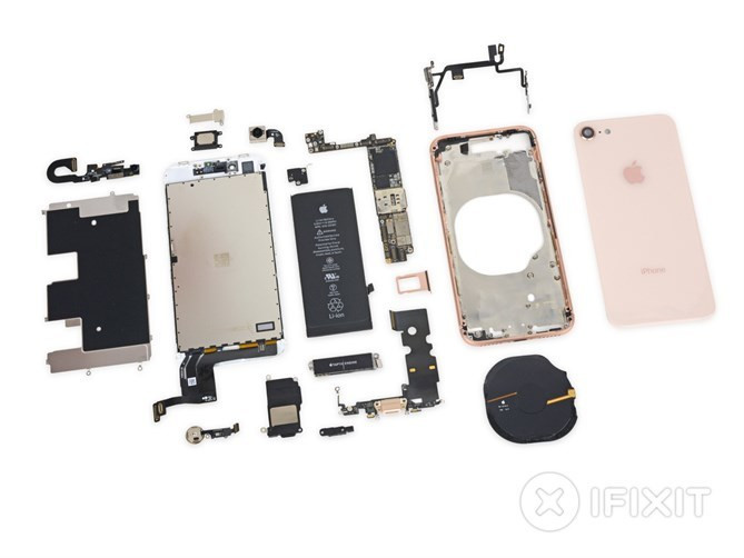 "iPhone 8 po ""recenzji"" u iFixit"