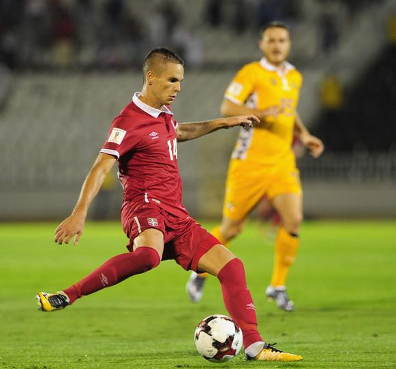 Mijat Gaćinović, povratnik u reprezentaciju Srbije