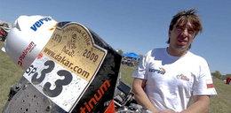 Dąbrowski wycofał się z Rajdu Dakar