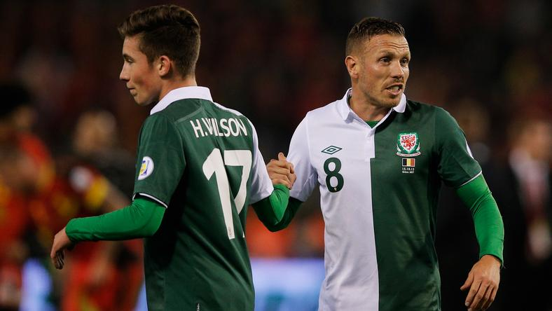 Harry Wilson i Craig Bellamy