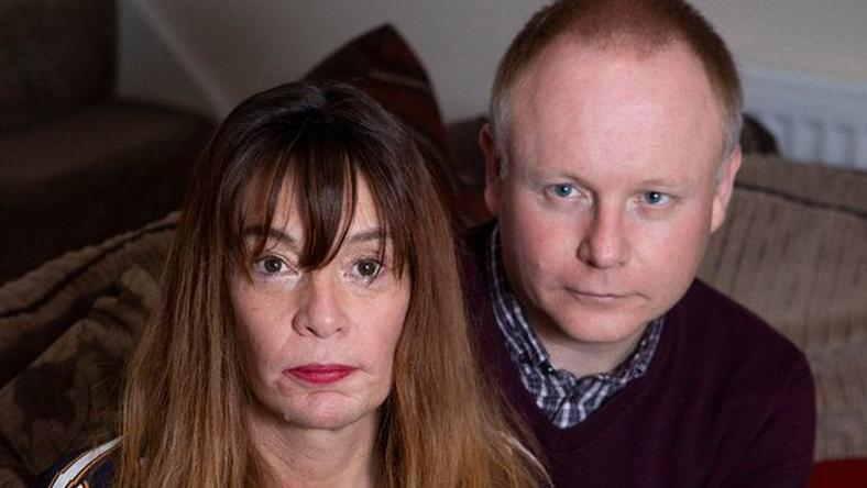When Gail Astin told her husband Simon that she was being blackmailed by an internet fraudster who has a nude photos, he was angry at first but later forgave her. [Mirror UK]