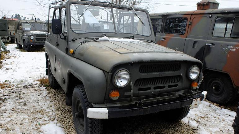 Auto z ogłoszenia - UAZ prosto z demobilu