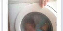 Zamknęła synka z zespołem Downem w pralce. Przyjechała policja