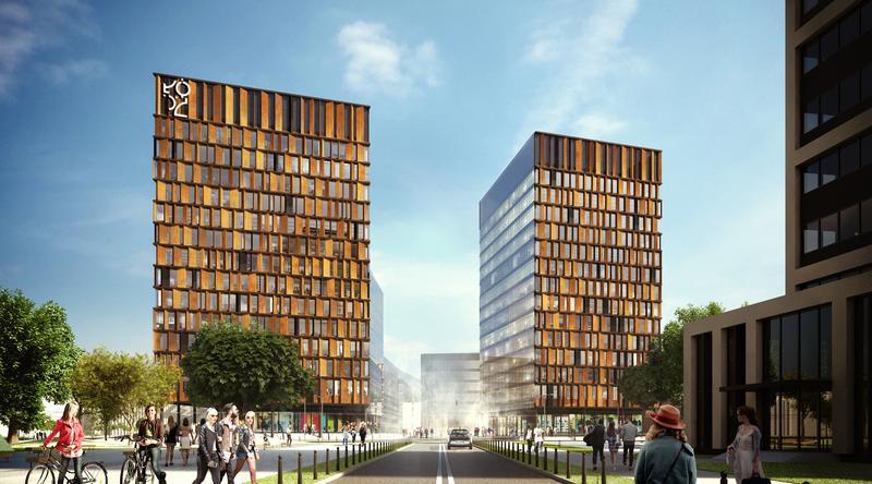 Ten budynek będzie pierwszym, jaki mają oglądać wychodzący z dworca Łódź Fabryczna