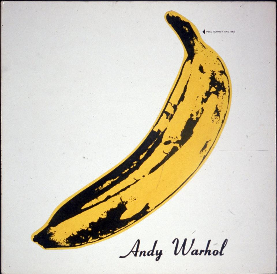 "Andy Warhol dla The Velvet Underground and Nico ""The Velvet Underground and Nico"""