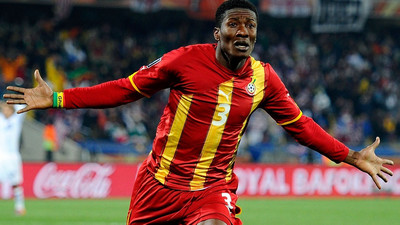 Asamoah Gyan's illustrious international football career in numbers