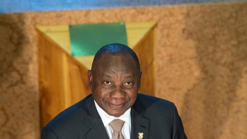 South African President Cyril Ramaphosa denied claims by a former comrade in arms that he sold out fellow anti-apartheid activists to the secret police in the 1970s
