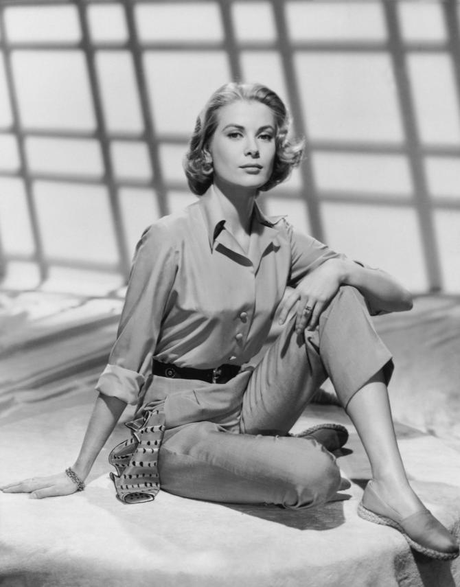 Grejs Keli nosila je špagerice u Parizu 1954.