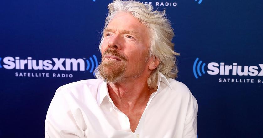 Richard Branson uważa, że sukces odnosi się, gdy po prostu jesteśmy szczęśliwi