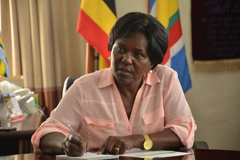 Monica Azuba Ntenge, Uganda's Minister for Works and Transport