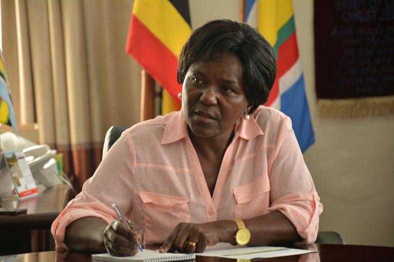 Monica Azuba Ntenge, Uganda's Minister for Works and Transport