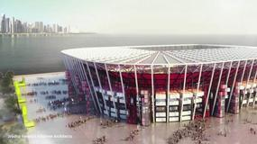 Pierwszy składany stadion z... kontenerów, na mundial 2022