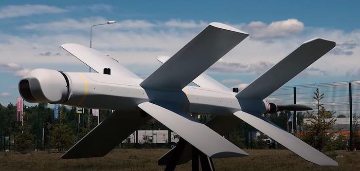 Ruski dron, kamikaza