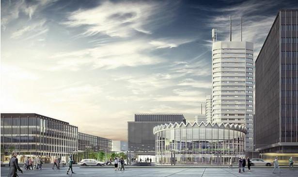 Projekt nowej Rotundy został wybrany w międzynarodowym konkursie w 2013 r., nadesłano 214 prac z 79 krajów. Wygrał projekt polskiej pracowni architektonicznej Gowin&Siuta. Przewiduje on zachowanie dotychczasowego kształtu, wielkości i elementów charakterystycznych Rotundy, ale również wprowadza do budynku przestrzeń na funkcje społeczne.Nowa Rotunda - wizualizacja -gowinsiuta