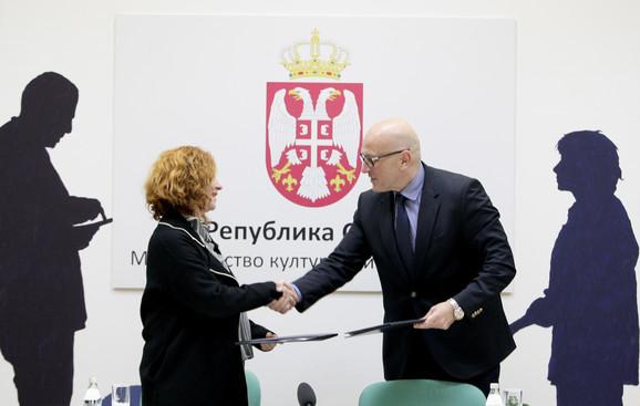 Jasna Dimitrijević i Vladan Vukosavljević