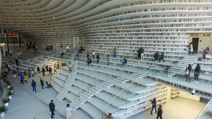 Chiny. Ta biblioteka zapiera dech w piersi!