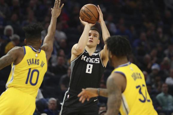 SRPSKA PRESUDA NBA VICEŠAMPIONU! Bogdan Bogdanović rafalom NOKAUTIRAO Golden Stejt! /VIDEO/